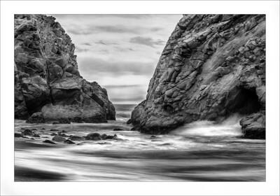 Pheiffer beach keyhole rock