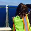 Mackinaw Bridge Tower Climb