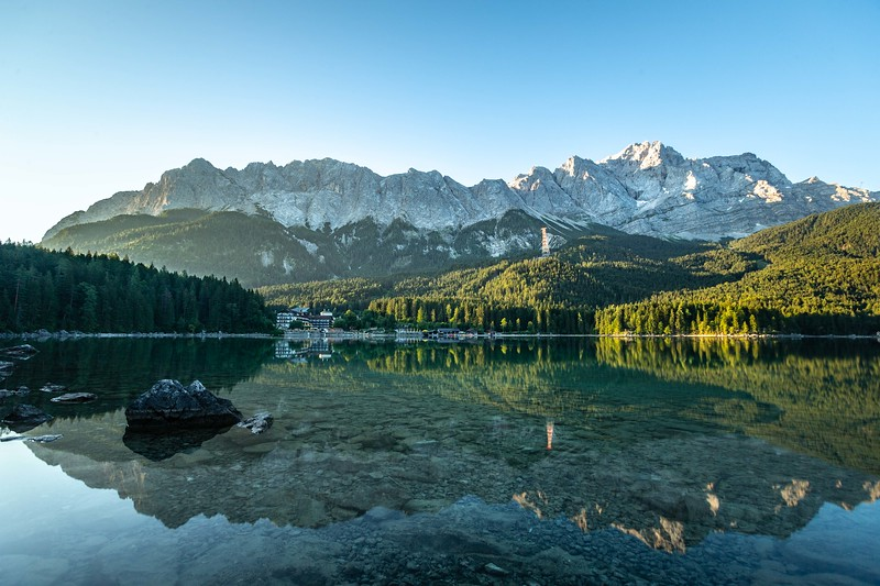 Eibsee reflection (1 of 1)