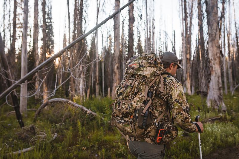 Sam Averett (@samaverett) scouting country in Idaho for Elk and Mule Deer. July, 2019