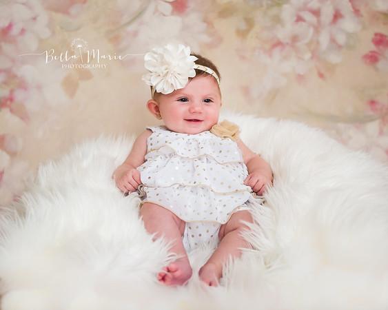 Baby Serena ~ 5 Months