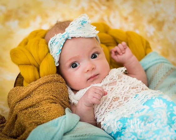 Isabella ~ 3 Months