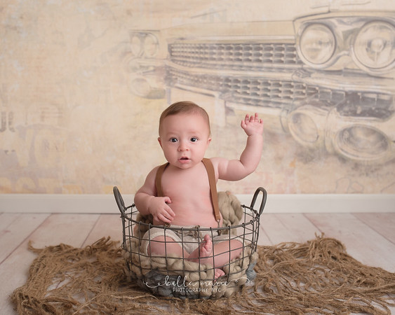 Saverio's Six-Month Sitter Session