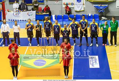 BRASIEL - CROAZIA, Finale