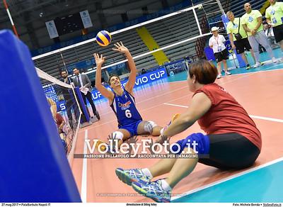 dimostrazione di Sitting Volley