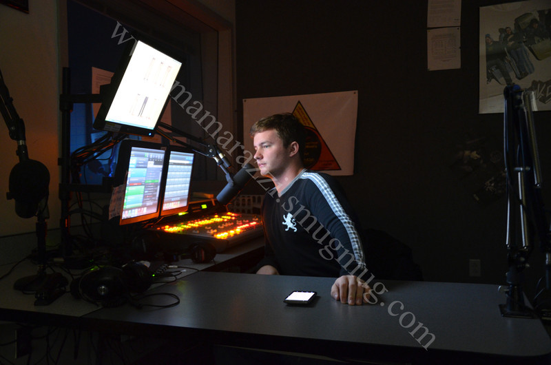"""Image ID # 3034<br /> Broadcasting<br />  """"The Edge Radio Station""""<br />  USI - Evansville Indiana"""