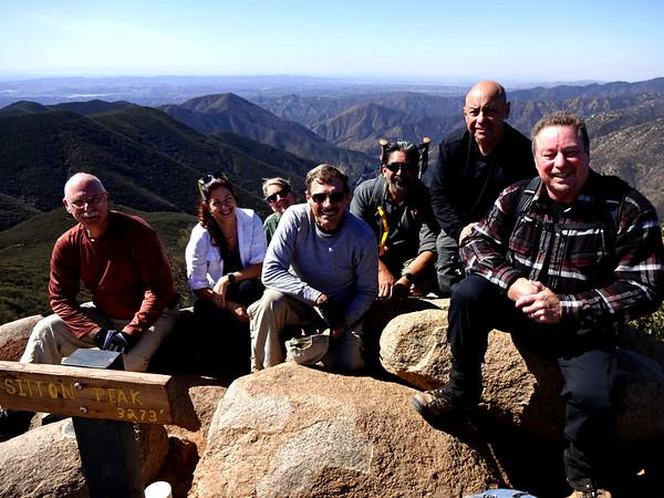 Sitton Peak Hike w/ Sierra Club, February 24, 2018