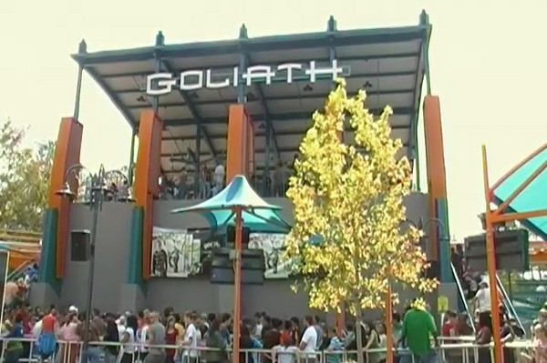 Goliath a Hyper-Coaster