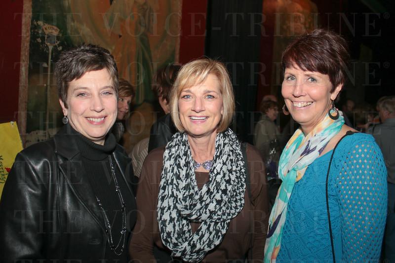 Robin Wheeler, Bunny Stoke and Renee Guelda.