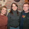Shannon Convery, Melissa Marcum Beam and T.J. Beam.