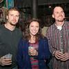 John Hardy, Rachel Voor and Sean Hardy.