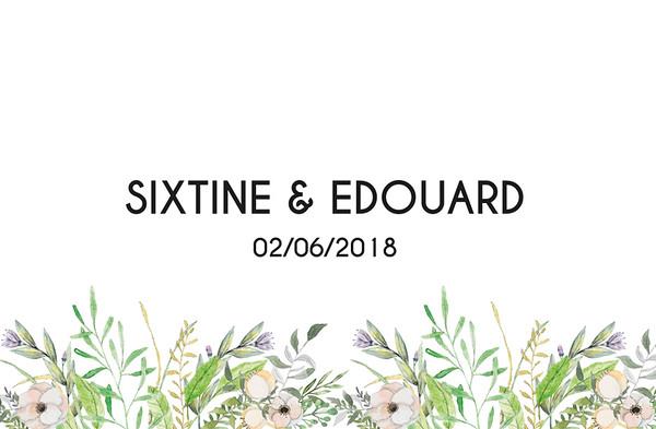 Sixtine & Eduard - 2 junio 2018