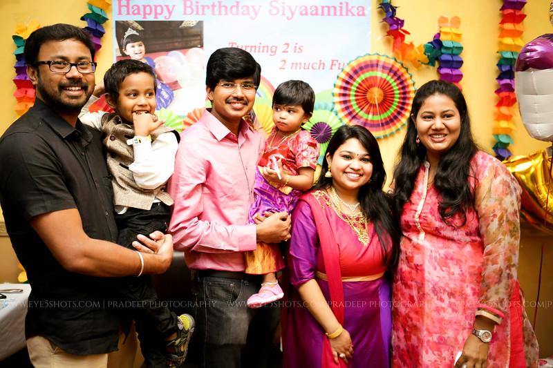 Siyamika 2nd Bday 2017