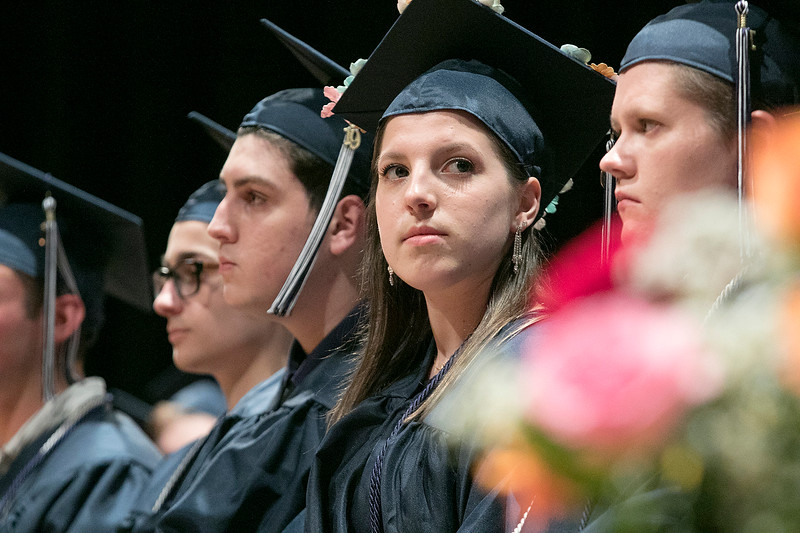 The Sizer A North Central Charter Essential School held their graduation on Thursday night, June 6, 2019 at Fitchburg State University. SENTINEL & ENTERPRISE/JOHN LOVE