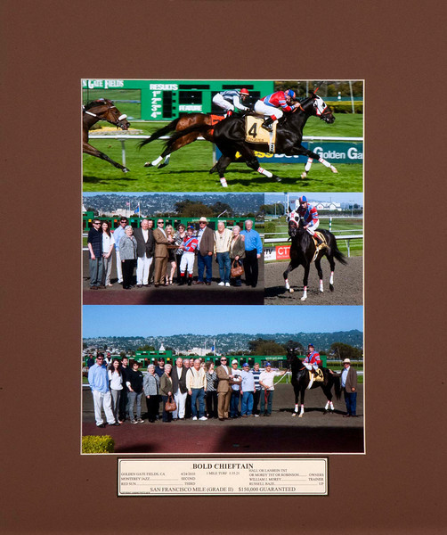 "16""x 20""  4 WAY WIN PHOTO <br /> <br /> INCLUDES:<br /> -Action Photo<br /> -Presentation Photo<br /> -Comeback Photo<br /> -Winners Circle Photo<br /> <br /> Also includes Matte and Custom label, not available with online purchase<br /> <br /> $105.00 /ea"