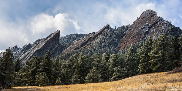 Frosted Flatirons