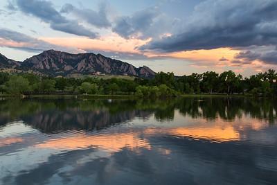 Viele Lake Sunrise