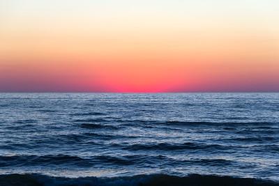 Lake Michigan Afterglow