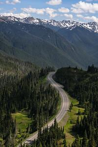 Road To Hurricane Ridge
