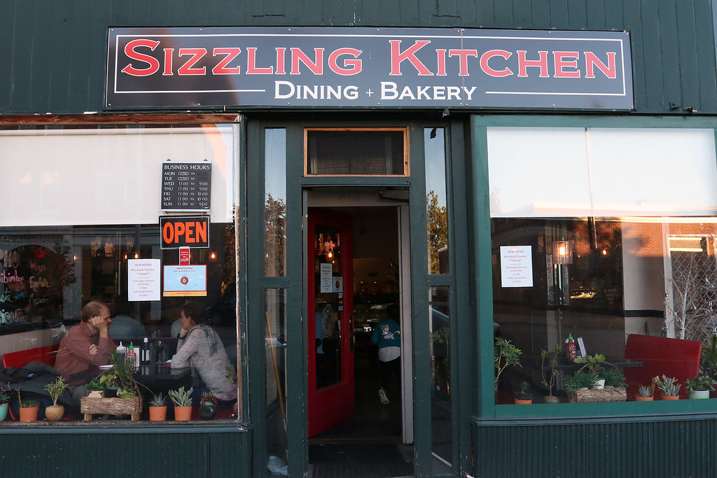 . The Sizzling Kitchen in Lowell on Merrimack Street. SUN/JOHN LOVE