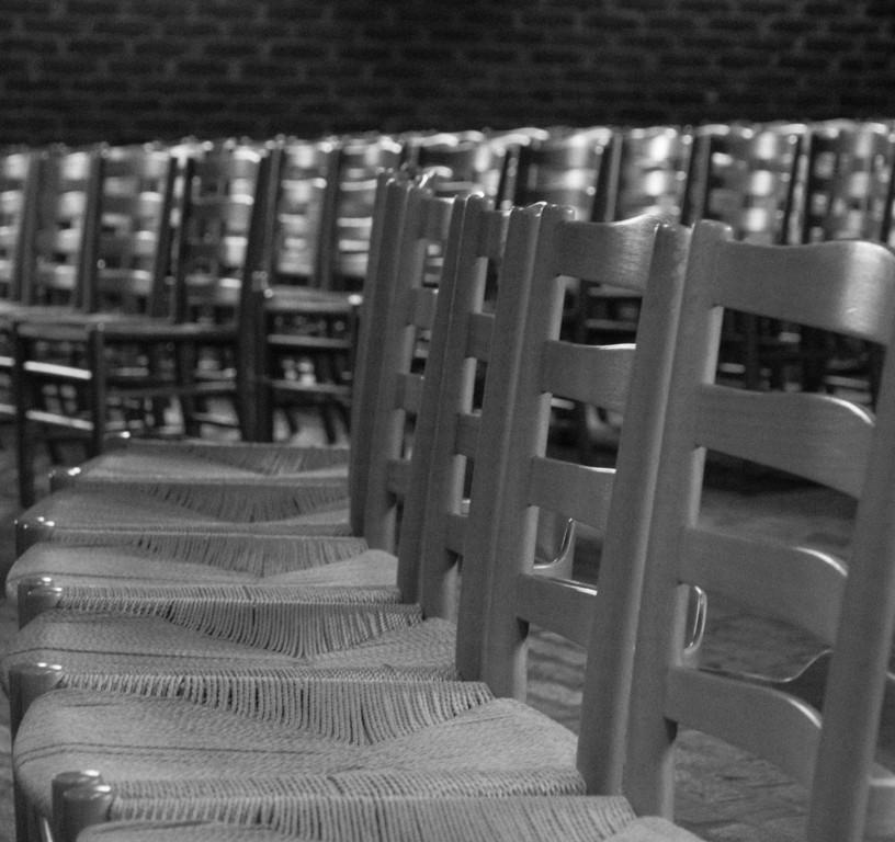 Klippan, St. Petri church. April 2010. Architect 1963-66, Sigurd Lewerentz.