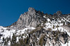 On Sunday we watched a couple fo climbers summit Prusic Peak.