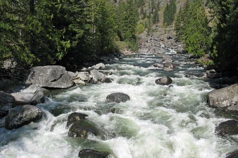Icicle Creek at Snow LakeTrailhead.