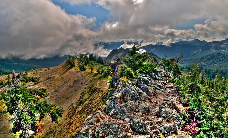 Park Butte ridge