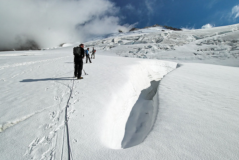 Easton Glacier in September