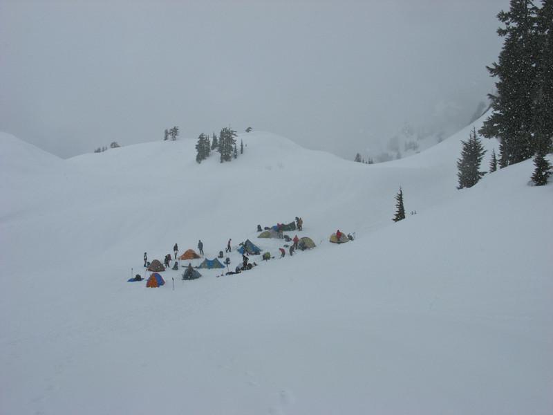 First snowcamp.