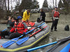 Randy and I preparing for a launch from Rockport Counry Park on the Skagit River....