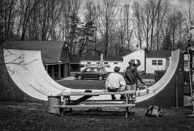 Backyard ramp 80's