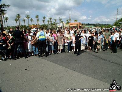 The crowd - Active Skate Shop Demo - Orange, CA - May 7, 2005