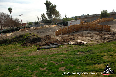 Garvanza Skatepark Construction Photos - Highland Park, CA