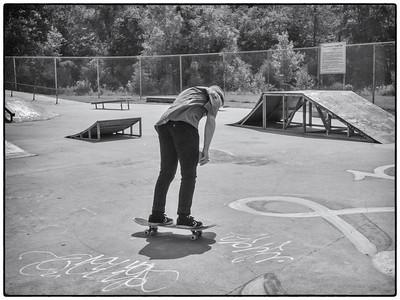 Hot Skateboarder: Zach at the Charlottetown Skatepark