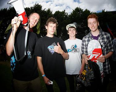 NOB, Keith Walsh 2nd, Gav Coughlan 1st, Ciaran Hughes 3rd Mini Ramp Kings of Concrete 2010
