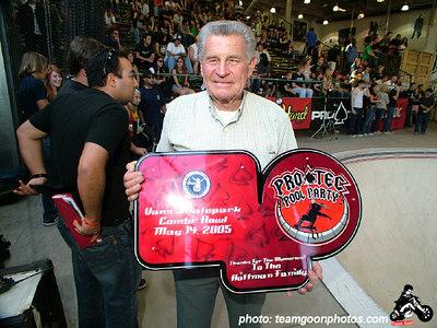 Stan Hoffman - Pro Tec Pool Party Contest - at VANS - Orange, CA - May 14, 2005