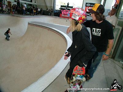 Pro Tec Pool Party Contest - at VANS - Orange, CA - May 14, 2005