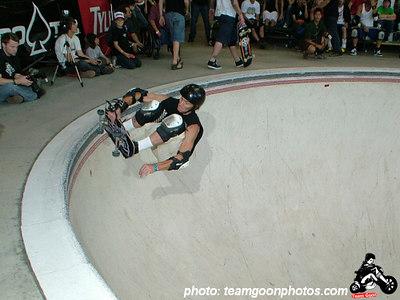 Don Hamilton - Pro Tec Pool Party Contest - at VANS - Orange, CA - May 14, 2005