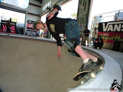 Scott Taylor - Pro Tec Pool Party Contest - at VANS - Orange, CA - May 14, 2005