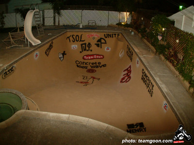 Bandini Bowl - The site of the Team Goon party