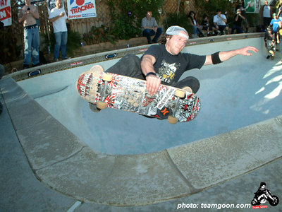 Dave Reul at Bandini Bowl - The site of the Team Goon party