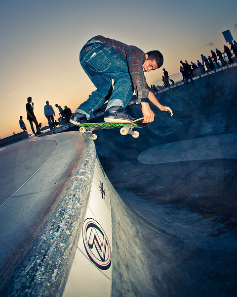 Rent @ Venice Beach Skatepark, Venice California.