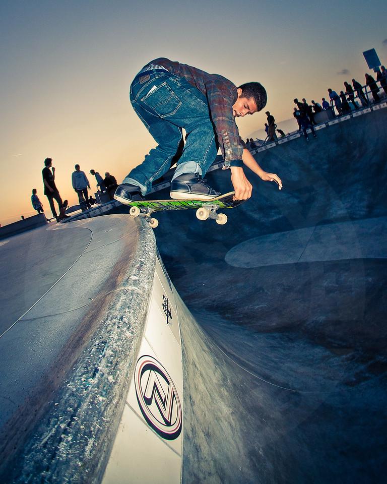 Rent @ Venice Beach Skatepark, Venice California.