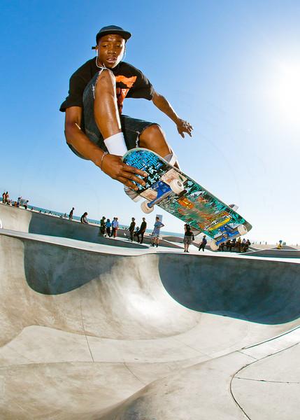 Leandre Sanders @ Venice Beach Skatepark