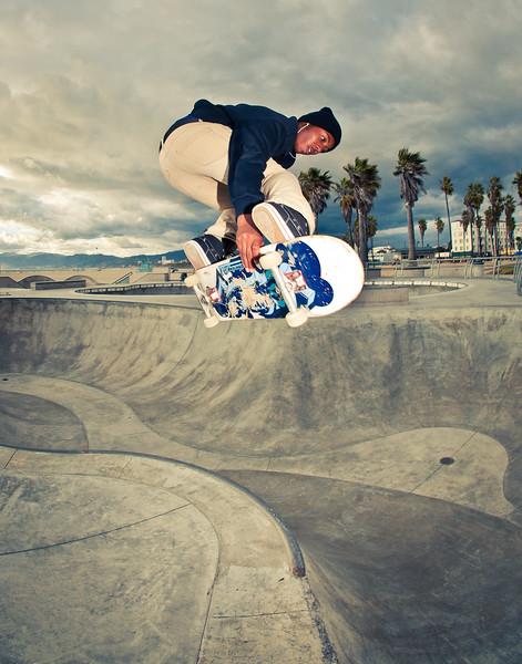 Caleb Harris @ Venice Skatepark, Venice Beach California. VeniceBeachPhotos.com