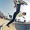 Mighty Moreno @ Venice Skatepark, Venice Beach California. VeniceBeachPhotos.com