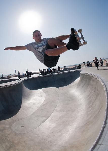 Matt Boyster @ Venice Skatepark, Venice Beach California. VeniceBeachPhotos.com