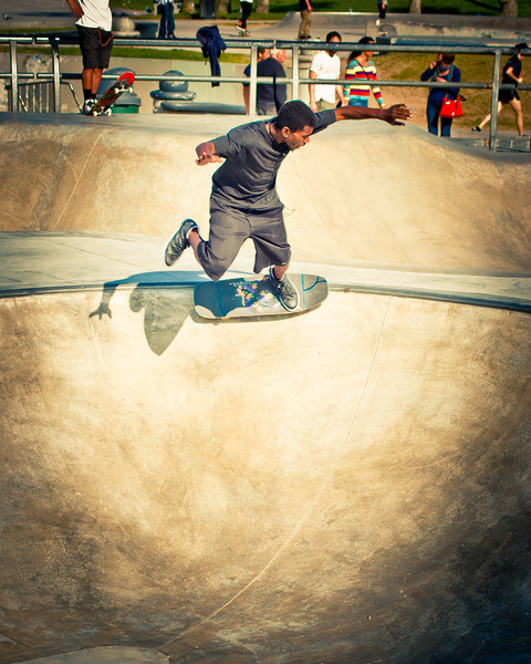 Hezekiah Soulskater Selaes @ Venice Skatepark, Venice Beach California. VeniceBeachPhotos.com
