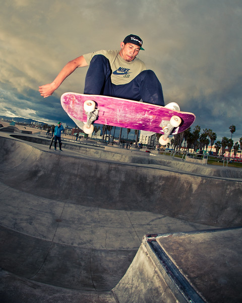 Johnny @ Venice Skatepark, Venice Beach California. VeniceBeachPhotos.com